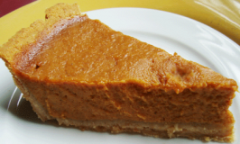 pumkin pie - vegetarian recipe