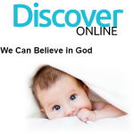 Discover Online Bible Study guide with baby image